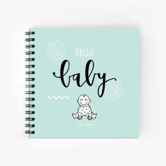 Baby invulboek plakboek fotoboek eerste jaar