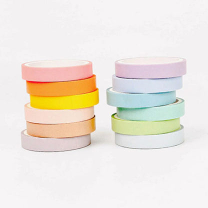 washi tape pastel set