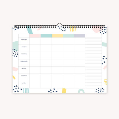 weekplanner gezinsplanner familieplanner